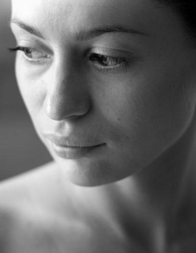 Magdalena Nutria at the shoot of Le Petit Marseillais, Warsaw